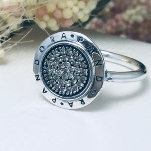 Original pandora signature ring size 6*